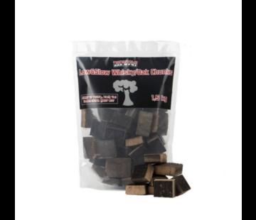 Vuur&Rook Dagdeal: Vuur&Rook Low&Slow Whisky / Eiken Chunks 1.5 kg