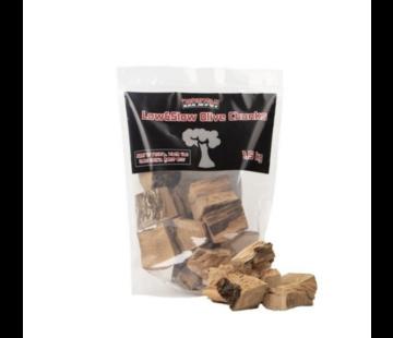 Vuur&Rook Vuur&Rook Low&Slow Olijf Chunks 1.5 kg