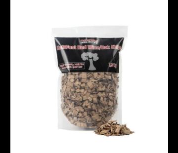 Vuur&Rook Vuur&Rook Hot&Fast Red Wine / Oak Chips 1.5 kg