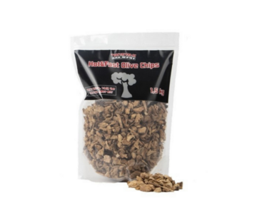 Vuur&Rook Vuur&Rook Hot&Fast Olijf Chips 1.5 kg