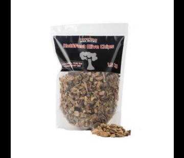 Vuur&Rook Vuur&Rook Hot&Fast Olive Chips 1.5 kg
