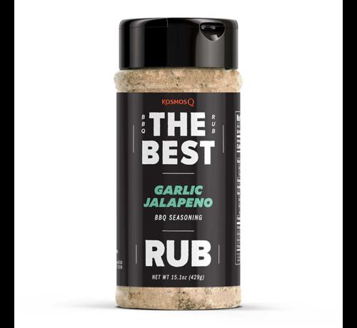 Kosmos Kosmos The Best Garlic Jalapeno Rub 15.1 oz