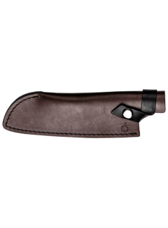Forged Leather Forged Leren Hoes Santokumes 18cm