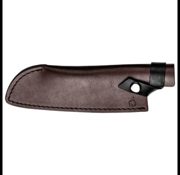 Forged Leather Forged Lederbezug Santokumesser 18cm