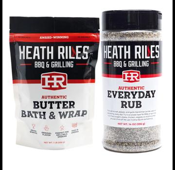 Heath Riles Heath Riles Everyday BBQ Rub/Butter Bath & Wrap Deal