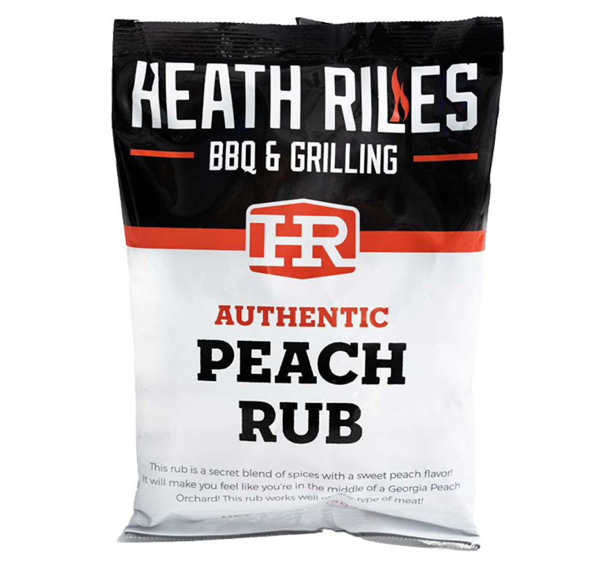 Heath BBQ Riles Peach Rub 2 lb