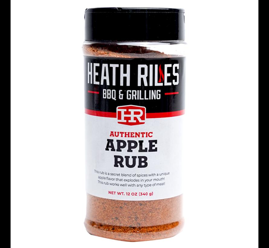 Heath Riles Apple BBQ Rub Shaker 16 oz + Refill Bag 2 lb Combo
