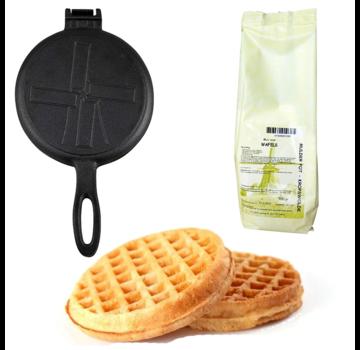 The Windmill Cast Iron The Windmill Waffle Iron + FREE Mulder Pot Waffle Mix
