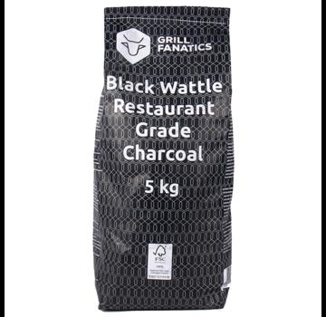 Grill Fanatics Grill Fanatics Restaurant Grade Charcoal Black Wattle 5 kg