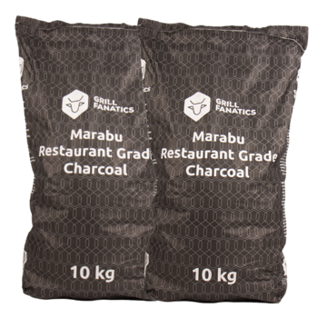 Grill Fanatics Grill Fanatics Restaurant Grade Marabu Charcoal 2 x 10 kg Deal
