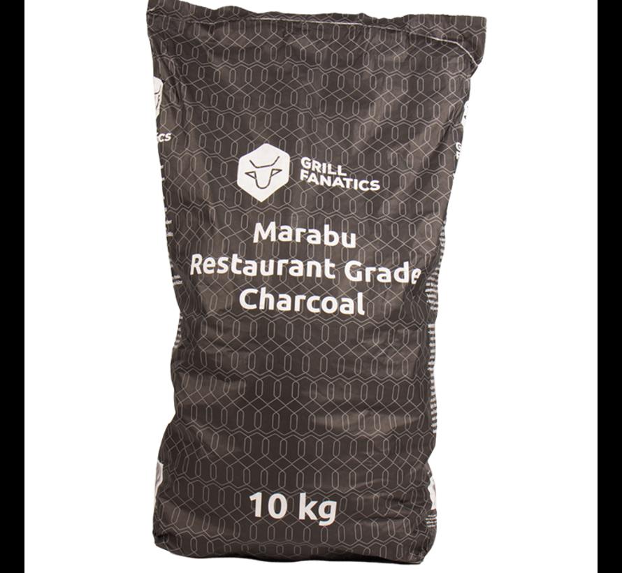 Grill Fanatics Restaurant Grade Marabu Houtskool / Aanmaakblokjes Deal 10 kg