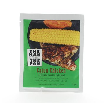 The Man With The Man Sorry We Lost The Date...The Man With The Pan Kip Cajun Sachet 30 gram