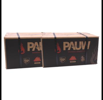 Pauw Pauw Premium Houtskool Briketten 2 x 10 kg Deal