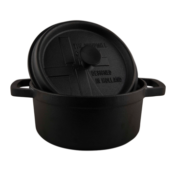 The Windmill Cast Iron The Windmill BBQ Pan With Lid 2 liter
