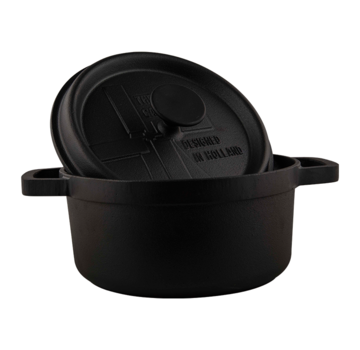 The Windmill Cast Iron The Windmill BBQ Pan With Lid 2,5 liter