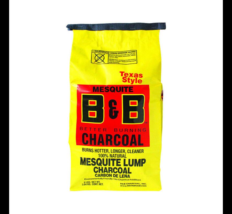 B&B Mesquite Lump Charcoal 2 x 3.6 kg Deal