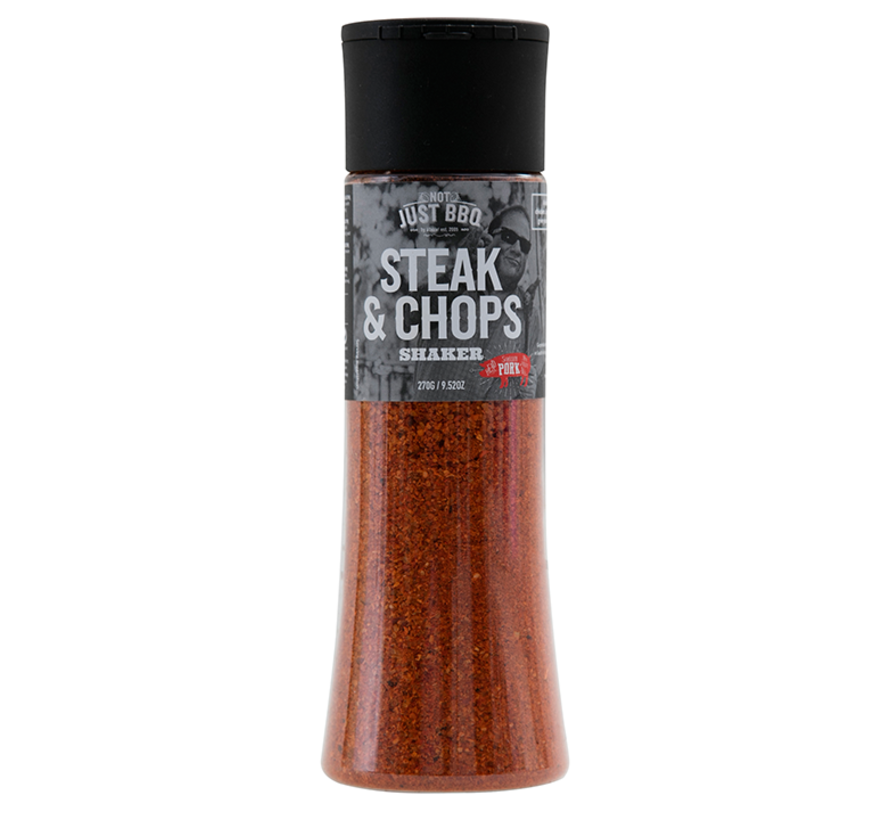 Not Just BBQ Steak & Chops Shaker 270 gram