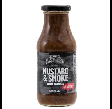 Not Just BBQ Not Just BBQ Mustard & Smoke BBQ Marinade & Sauce 250 ml