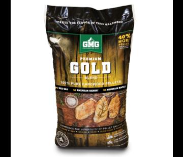 Green Mountain Green Mountain Premium Gold Eik/Hickory/Maple BBQ Pellets 12.7 kilo