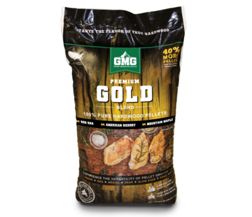 Green Mountain Green Mountain Premium Gold Oak / Hickory / Maple BBQ Pellets 12.7 kilos