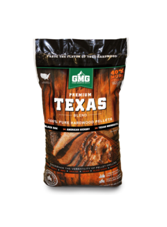 Green Mountain Green Mountain Premium Texas Blend Eik/Hickory/Mesquite BBQ Pellets 12.7 kilo