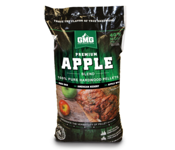 Green Mountain Green Mountain Premium Appel Blend Eik/Hickory/Appel BBQ Pellets 12.7 kilo