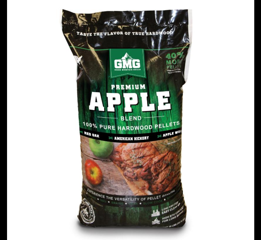 Green Mountain Premium Appel Blend Eik/Hickory/Appel BBQ Pellets 12.7 kilo