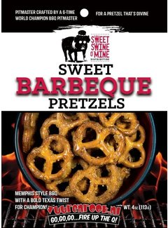 Sorry We Lost The Date... Lambert's Sweet Swine o Mine BBQ Pretzels