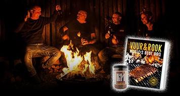 Vuur & Rook<br/>World's Best<br/>BBQ Boek