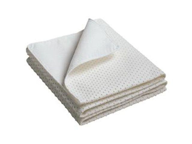 Noppen latex matrasbeschermers voor op de lattenbodem
