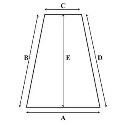 Traagschuim oplegmatras met 2 haakse hoeken