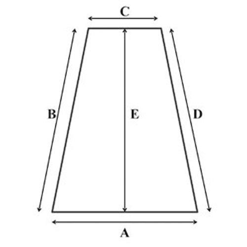 Matrassenmaker Traagschuim oplegmatras met 2 haakse hoeken