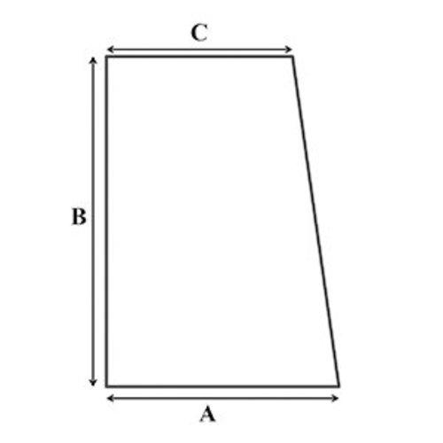 Matrassenmaker Tot 160cm traagschuim oplegmatras met 1 haakse hoek
