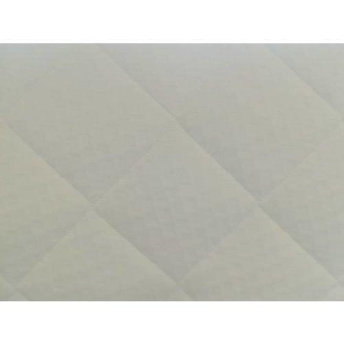 Matrassenfabrikant Tot 160cm koudschuim HR55 oplegmatras met 1 schuine hoek eruit