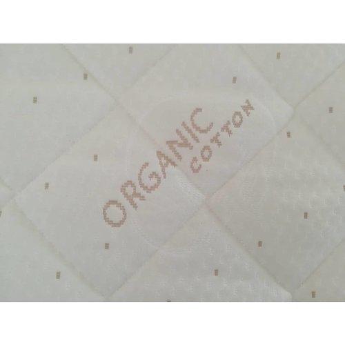 Matrassenfabrikant Tot 90 cm breed traagschuim oplegmatras/topper met 1 schuine zijde