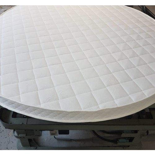 Matrassenmaker Rond matras 200cm koudschuim hr55