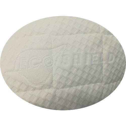 Matrassenfabrikant  tot 90cm koudschuim HR55 oplegmatras met 1 schuine hoek eruit