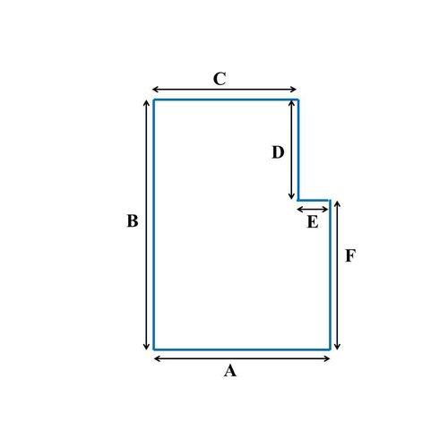 Matrassenfabrikant Tot 90cm koudschuim HR55 oplegmatras met 1 hoek eruit