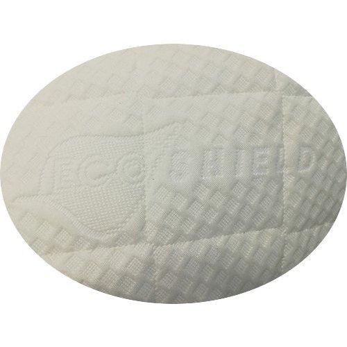 Matrassenfabrikant Tot 90cm traagschuim oplegmatras met 1 haakse hoek