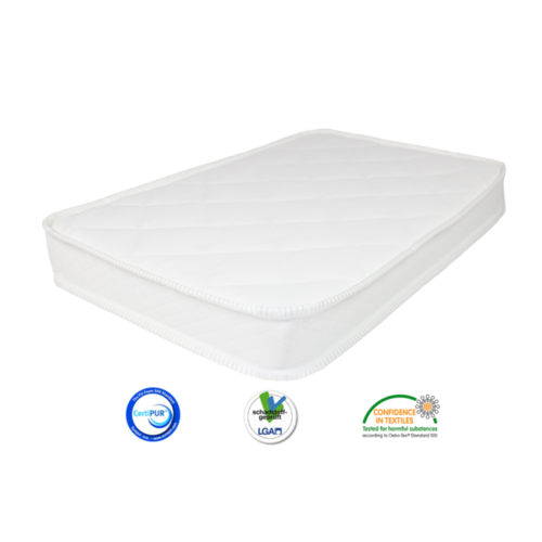 Matrassenfabrikant Koudschuim HR80 tot 100cm breed matras op maat