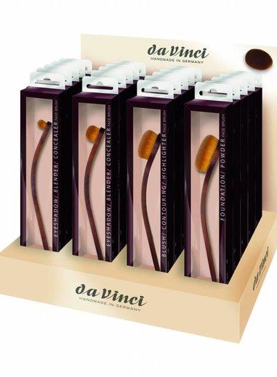 DaVinci DEAL Face Brushes (5pc)