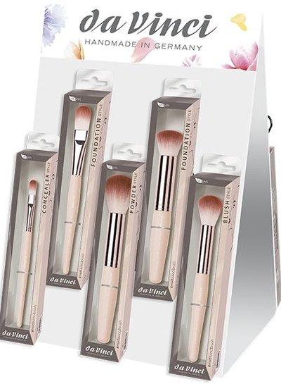 DaVinci DEAL DaVinci STYLE Brushes set w/ display VEGAN