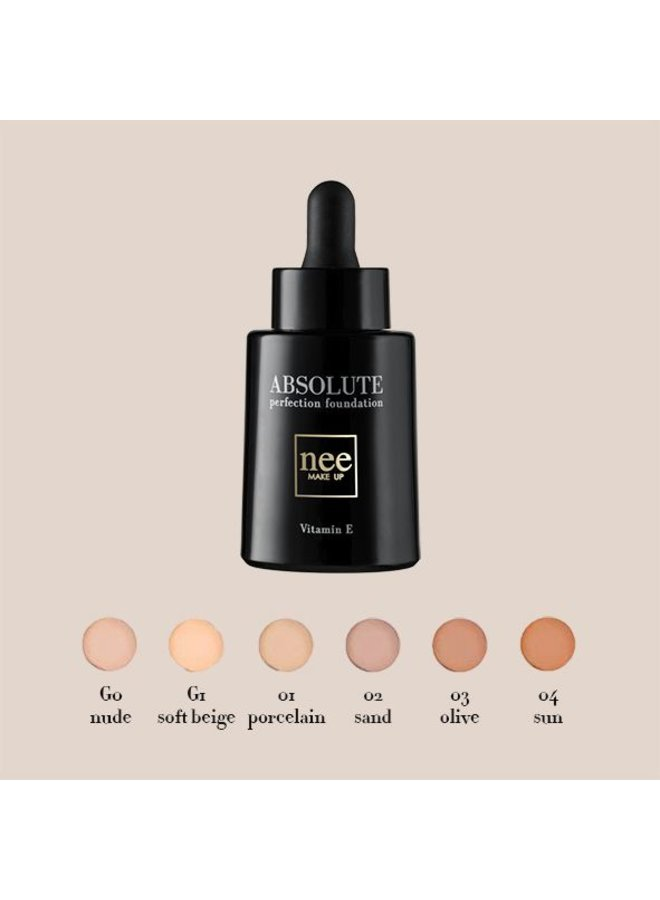 DEAL Absolute Perfection Foundation (all testers)