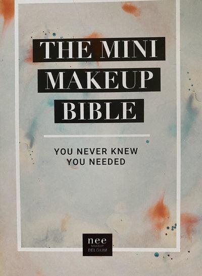 Nee MIni make up bible 10 stuks