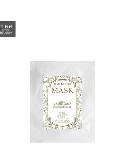 Hydrating vegetal bio cellulose mask with hyaluronic acid