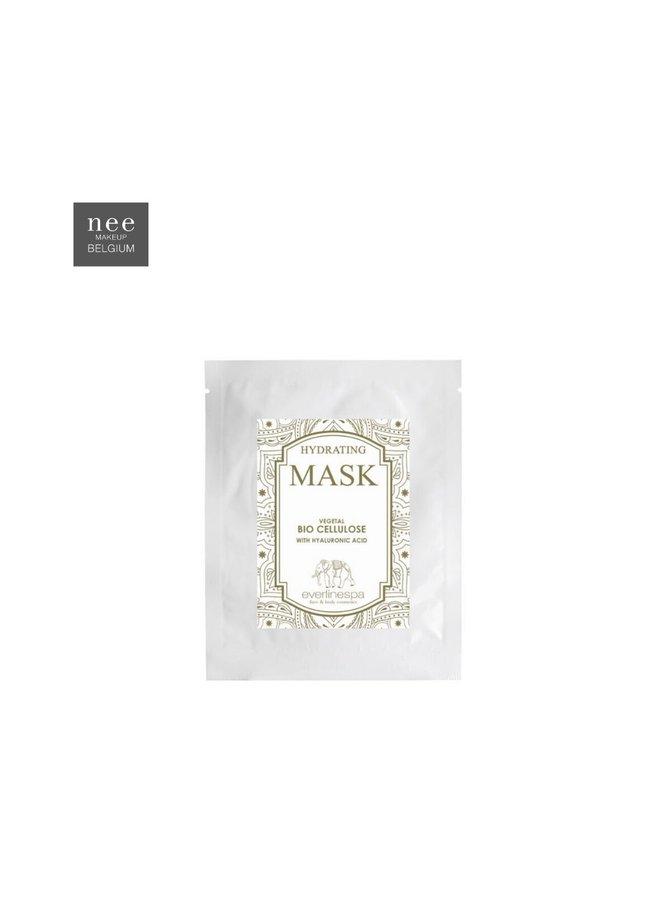 Masque hydratant bio cellulose végétale à l'acide hyaluronique 5pcs