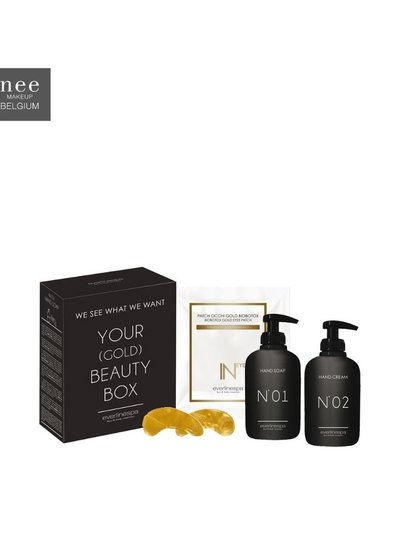 E. Spa Gift Your gold beauty box