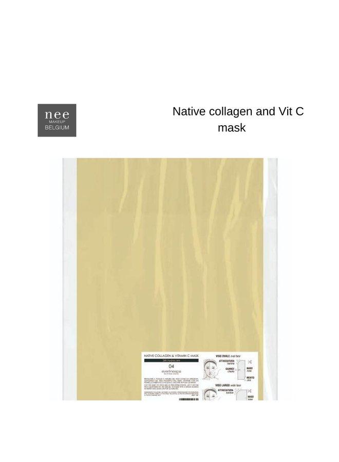 E.SPA Native Collagen § Vitamin C Mask 5pcs