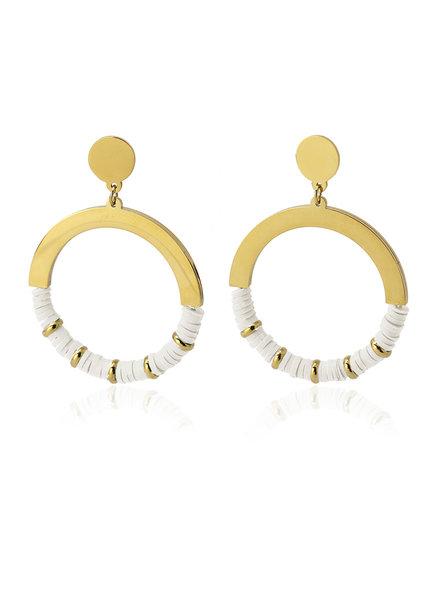 Anartxy juwelen Boucles d'oreilles moyennes BPE481BL