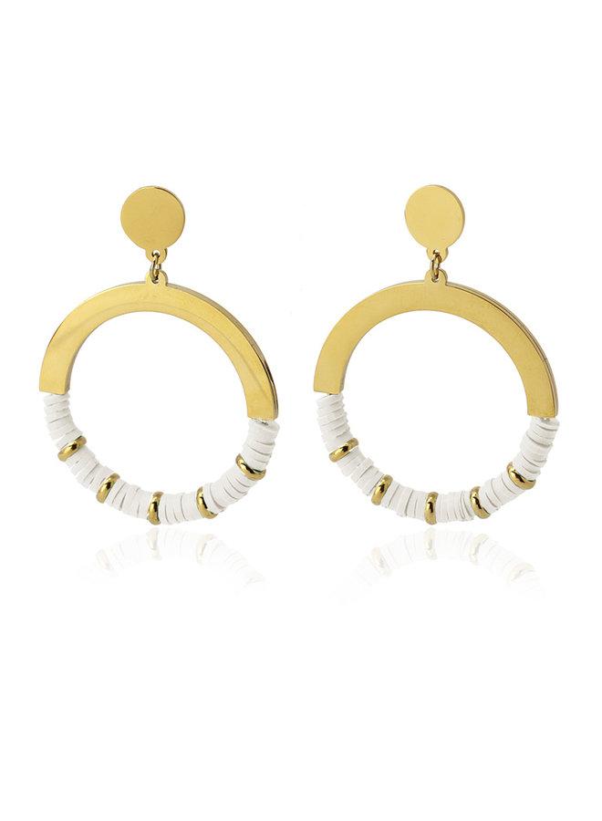 Earrings medium BPE481BL